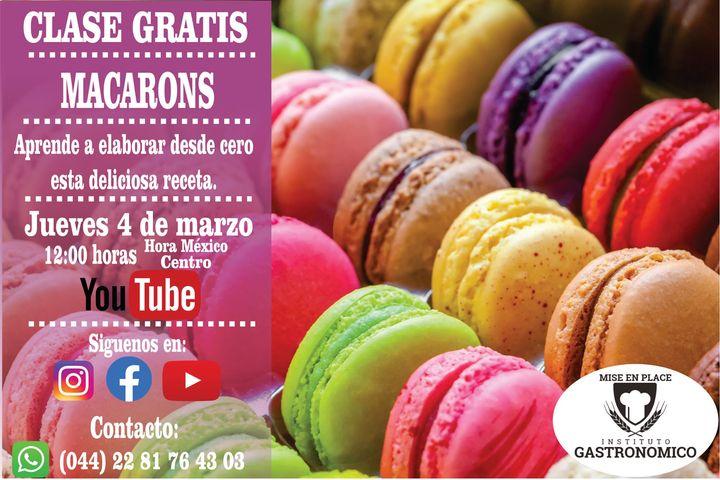 Macarons-Clase gratuito