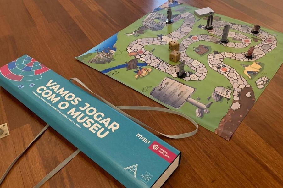 'Vem Jogar com o Museu'