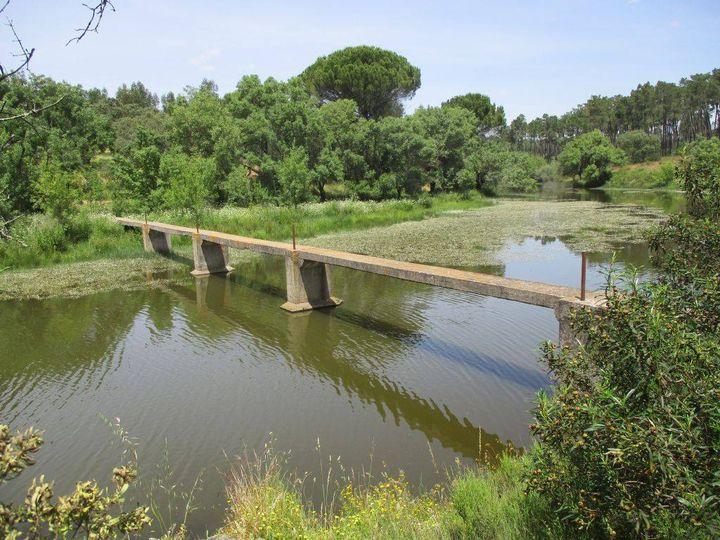 Caminhando na vila romana de Tourega