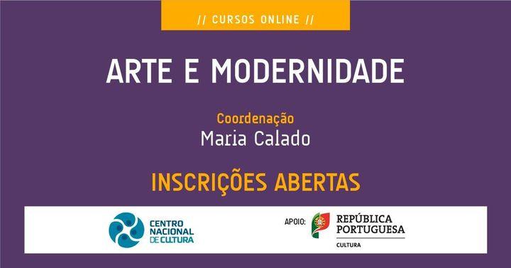 Curso 'ARTE E MODERNIDADE'