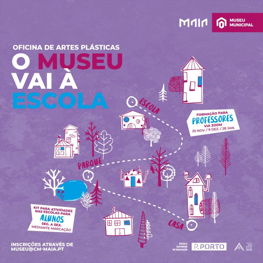 Oficina self service - O MUSEU VAI À ESCOLA