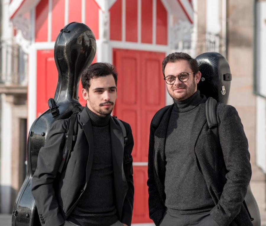 Novos Talentos - Duo FranciscoBerény Domingues &Tiago Azevedo e Silva - Guitarra e violoncelo