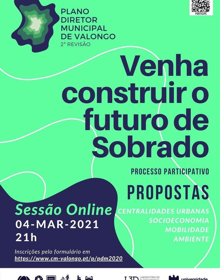 Sessão online sobre Revisão do PDM de ...
