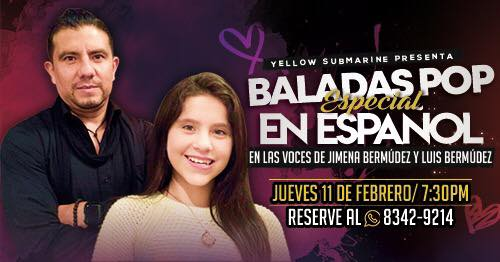 #Baladas #POP en Español #Jimena y #Luis Bermúdez
