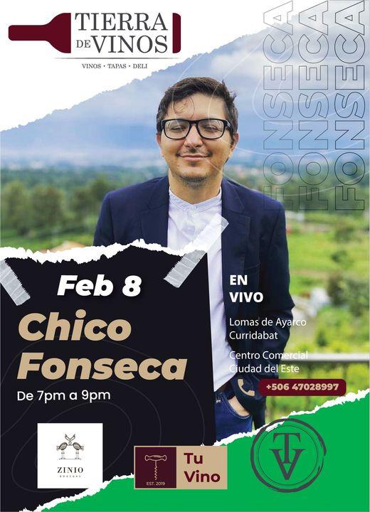 Chico Fonseca en vivo en Tierra de Vinos