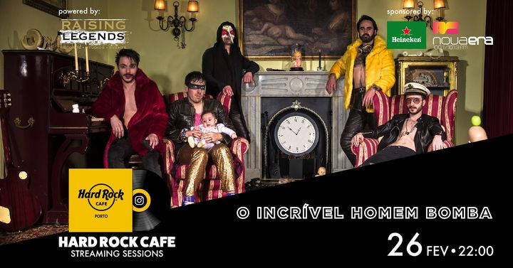 O Incrível Homem Bomba | Hard Rock Cafe Streaming Sessions