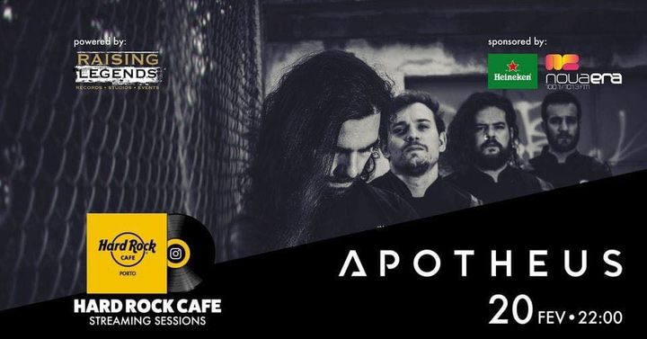 APOTHEUS - Live @ Hard Rock Cafe - Porto