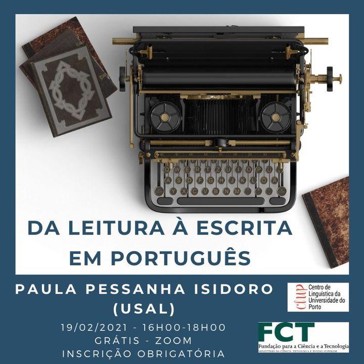Workshop 'Da leitura à escrita em português'