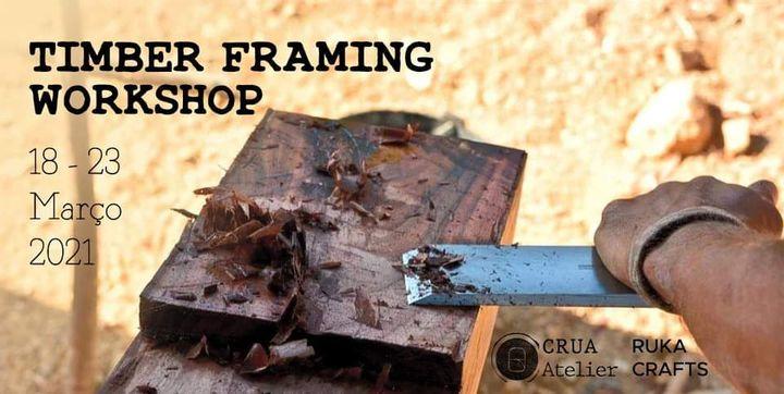 Traditional Timber Framing - Seaside Workshop │ CRUA Atelier & Ruka Crafts (COMPLETO)