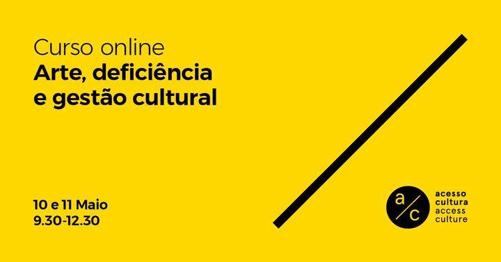 Curso 'Arte, deficiência e gestão cultural'