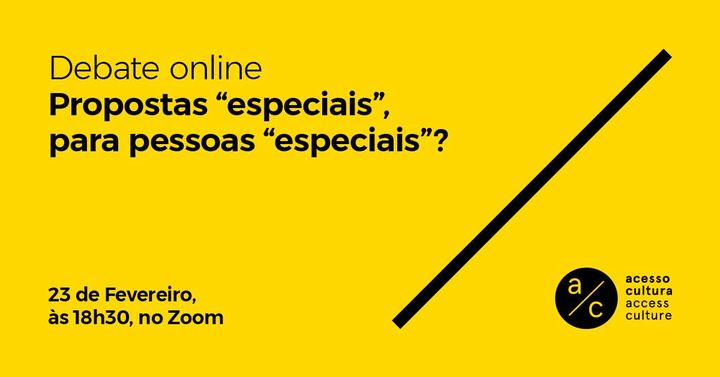 Debate: Propostas 'especiais', para pessoas 'especiais'?