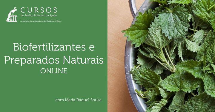Biofertilizantes e Preparados Naturais   Curso Online
