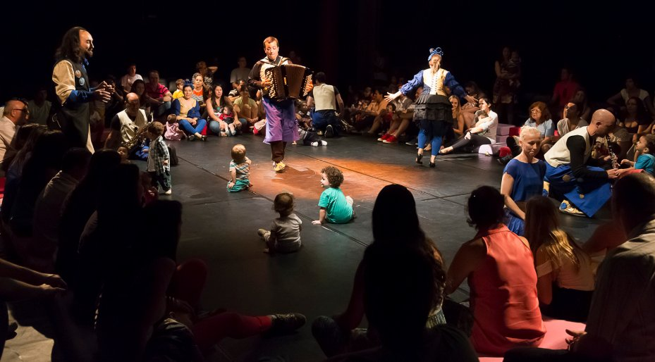 Concertos para Bebés | A Festa dos bebés em ritmo Klezmer