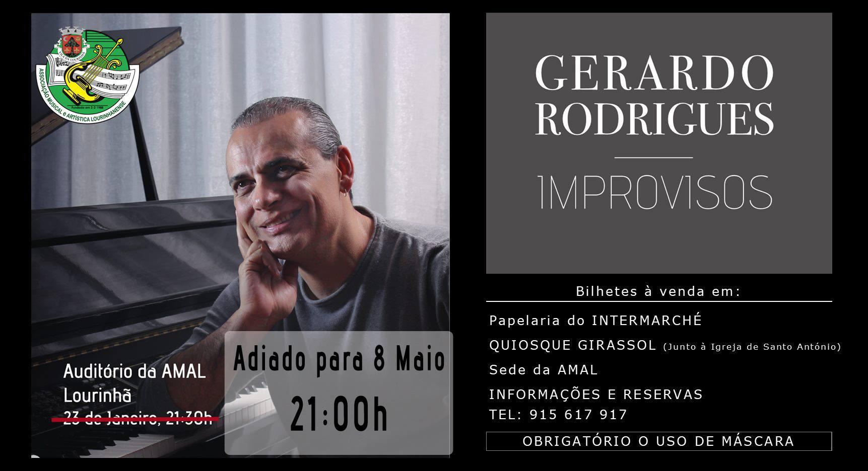 Concerto 'Improvisos' - Gerardo Rodrigues