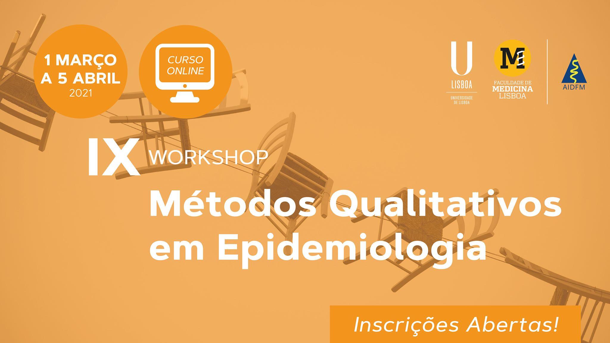 IX Workshop Métodos Qualitativos em Epidemiologia