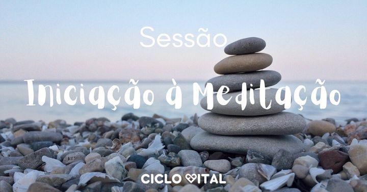 Sessão Iniciação à Meditação