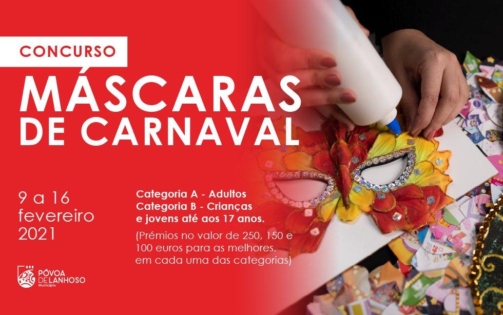 """Concurso """"Máscaras de Carnaval"""""""