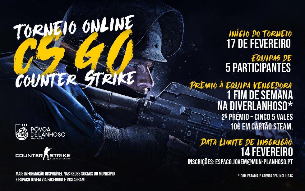 Torneio CS GO (Counter-Strike)
