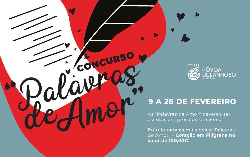 """Concurso """"Palavras de amor"""""""