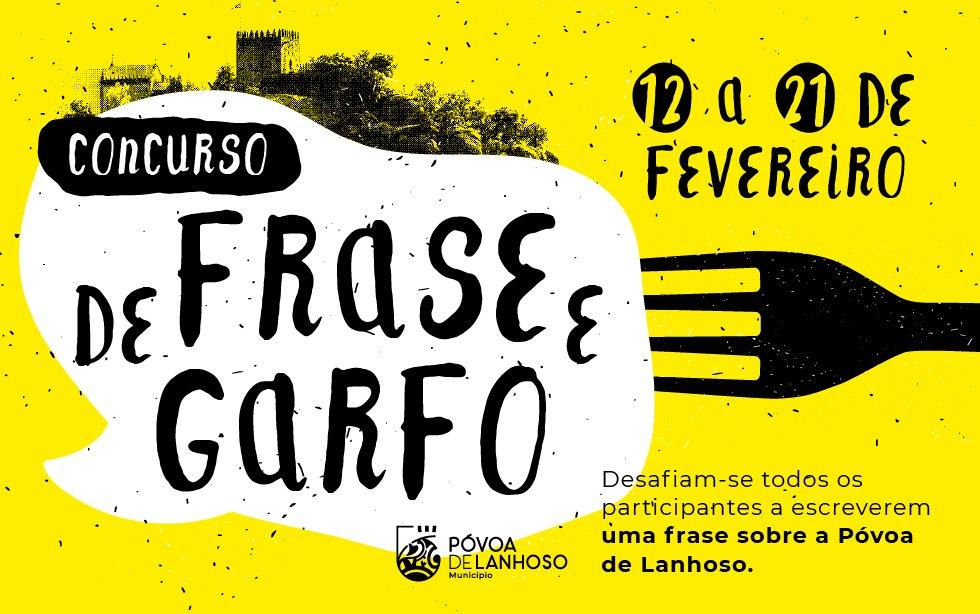"""Concurso """"De Frase e Garfo"""""""