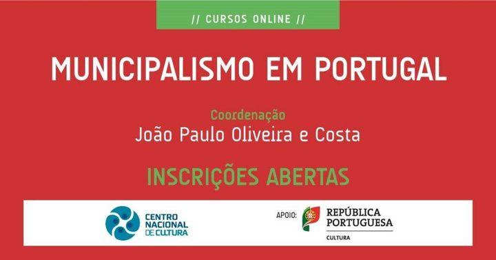 Curso 'MUNICIPALISMO EM PORTUGAL'
