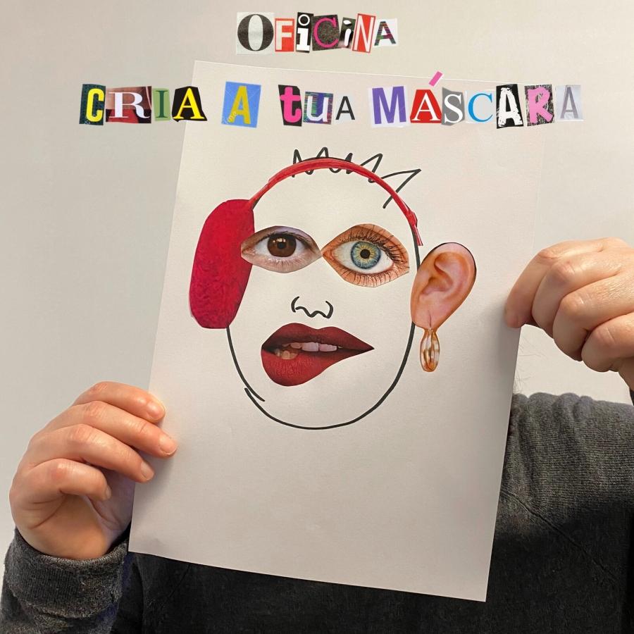 'Cria a Tua Máscara'