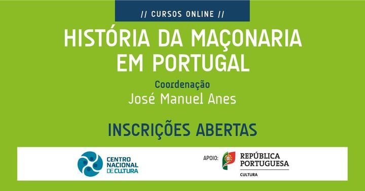 Curso 'HISTÓRIA DA MAÇONARIA EM PORTUGAL'