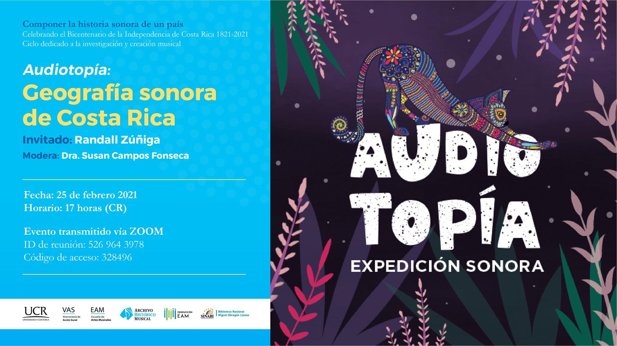 Audiotopía: Geografía sonora de Costa Rica
