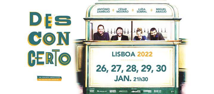 Desconcerto - Lisboa 2022