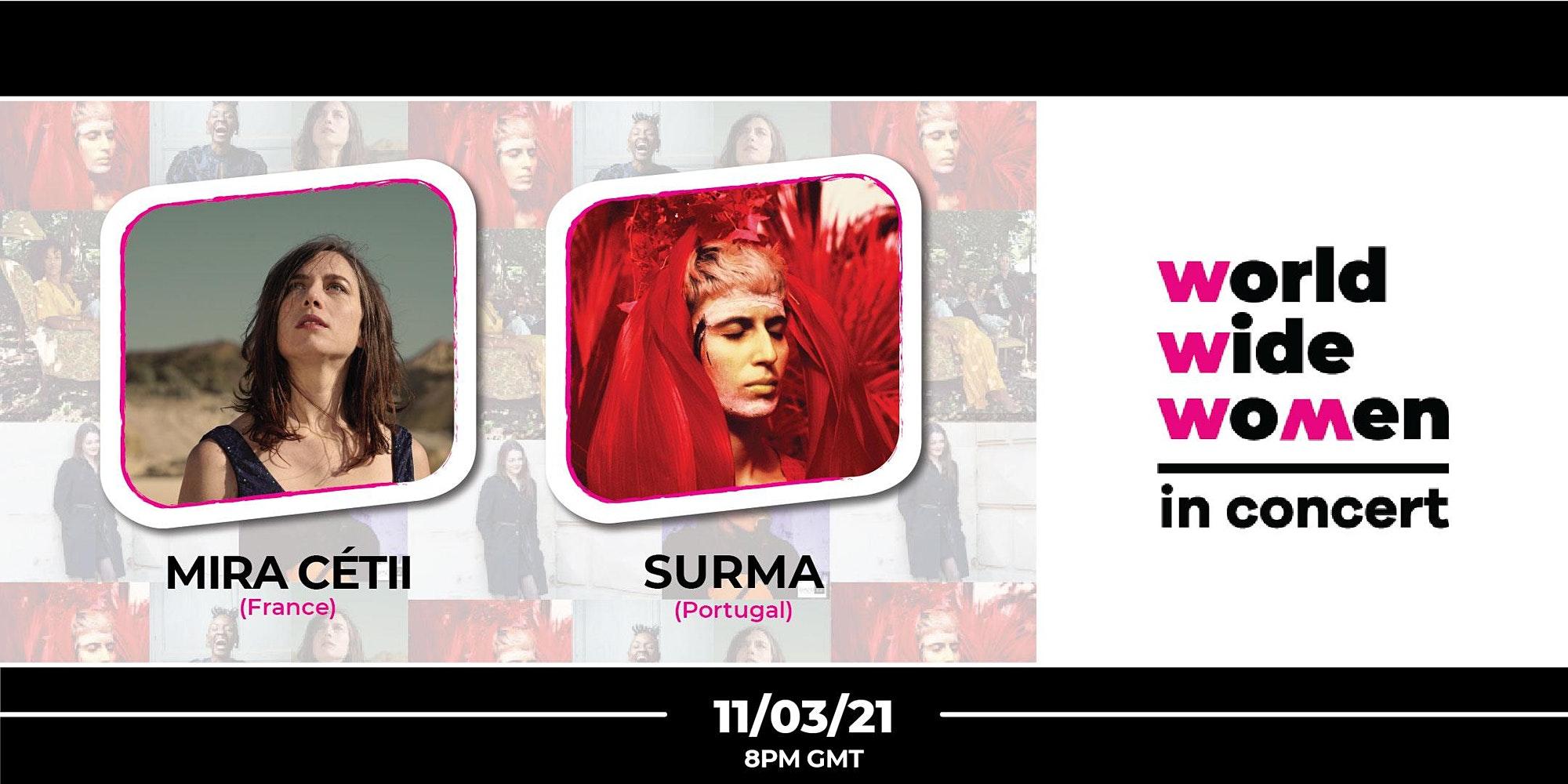 Mira Cétii & Surma - Worldwide Wo+men in Concert #8