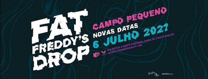 Nova Data: Fat Freddy's Drop // Campo Pequeno