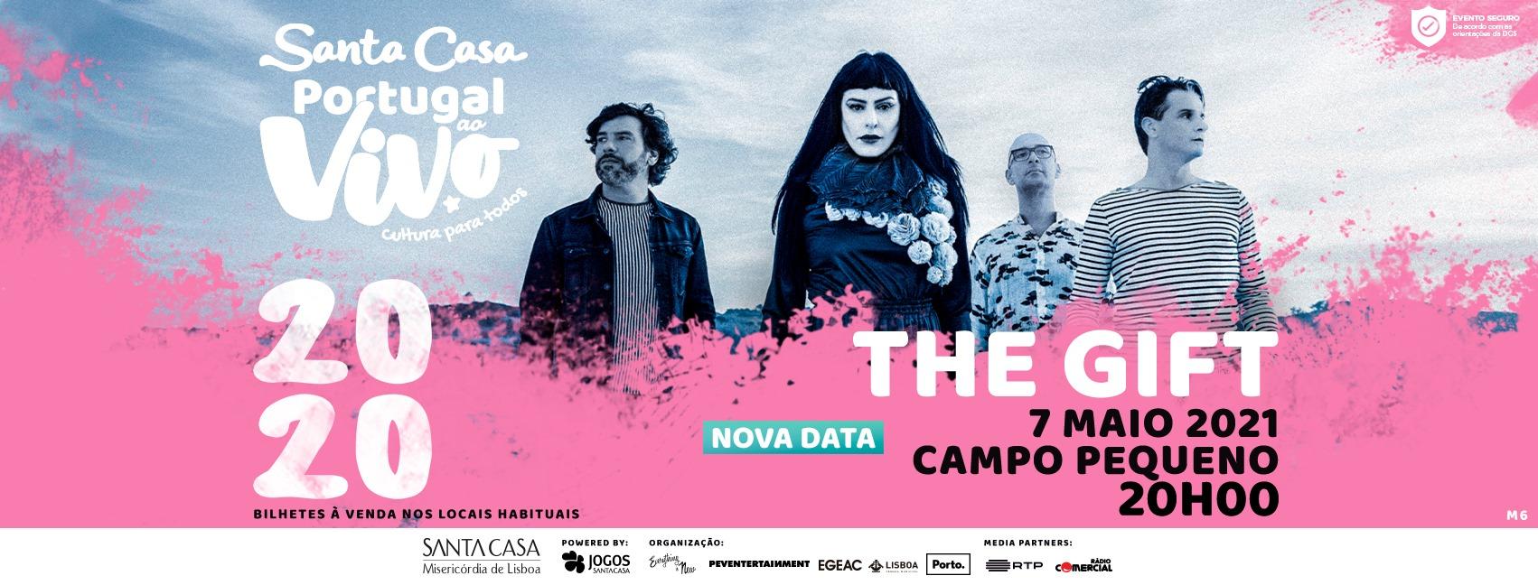 NOVA DATA: THE GIFT - SANTA CASA PORTUGAL AO VIVO