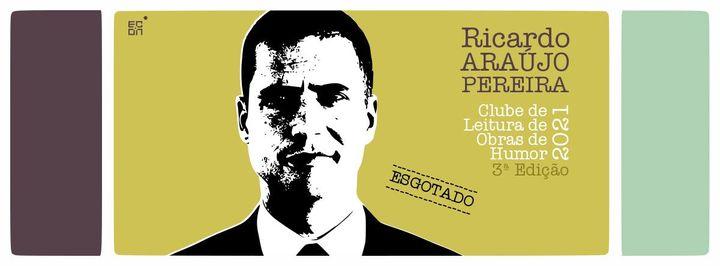 Ricardo Araújo Pereira (Clube de Leitura de Obras de Humor 2021)