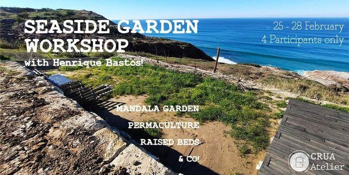 Seaside Garden Workshop │ CRUA Atelier & Henrique Bastos