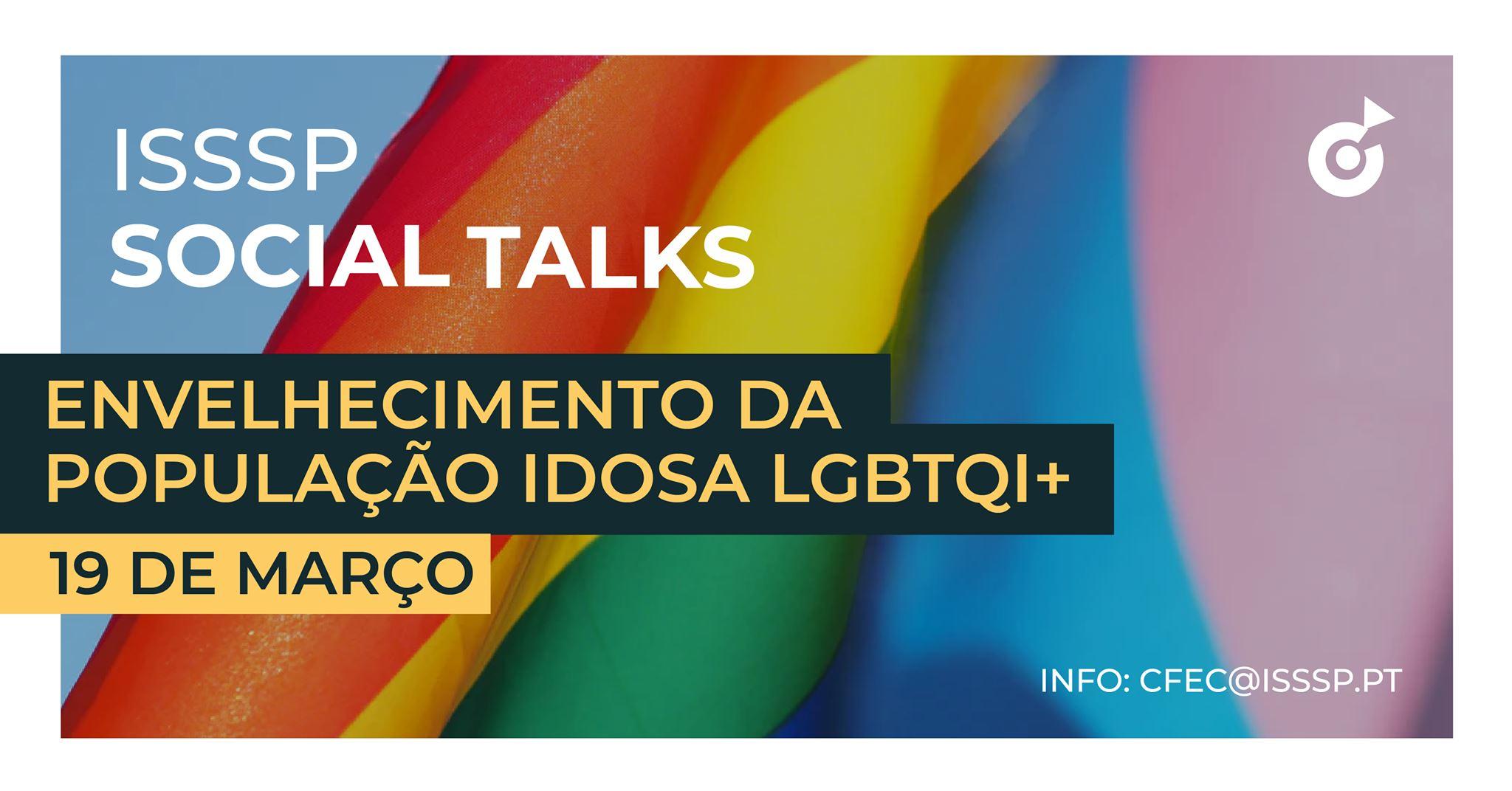 ISSSP SOCIAL TALKS | Envelhecimento da População Idosa LGBTQI+