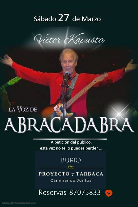 Victor Kapusta - Abracadabra 27 de Marzo