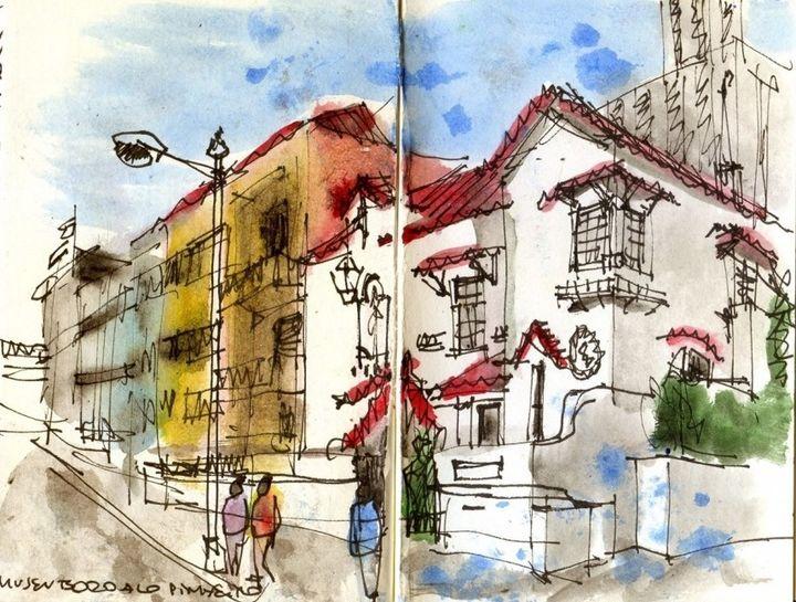 Vamos desenhar com... | Oficinas de desenho com os Urban Sketchers