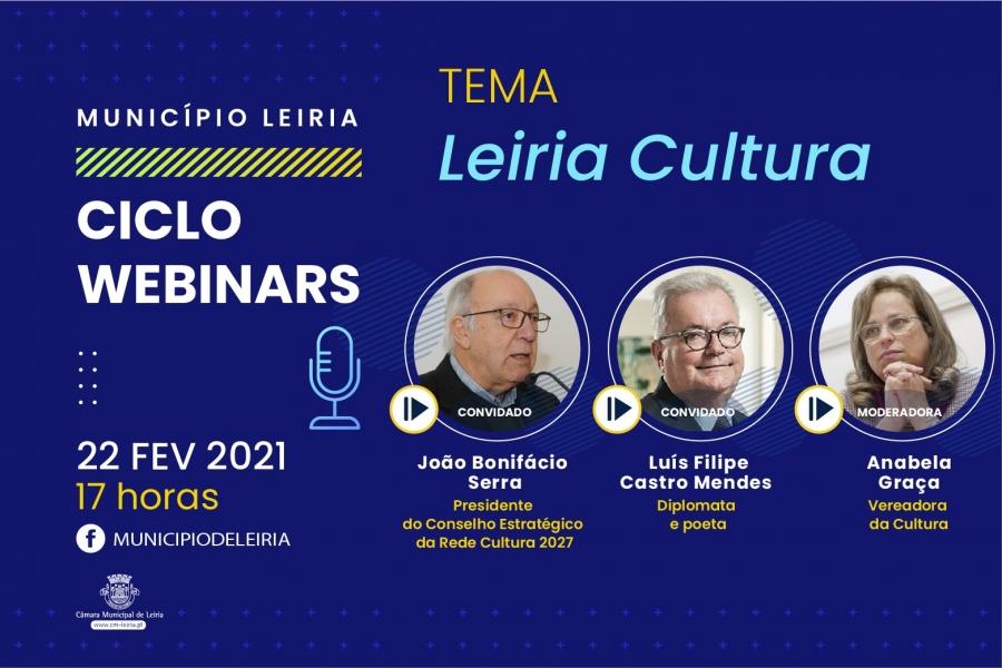 """""""Leiria Cultura"""" abre ciclo de webinars promovidos pelo Município ..."""
