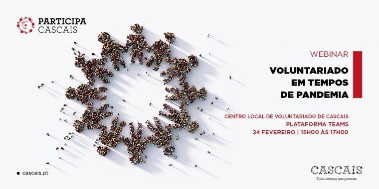 Webinar 'Voluntariado em Tempos de Pandemia'