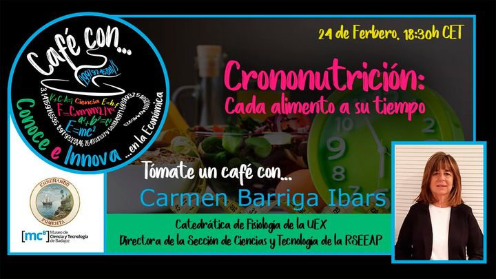 Café con Carmen Barriga Ibars