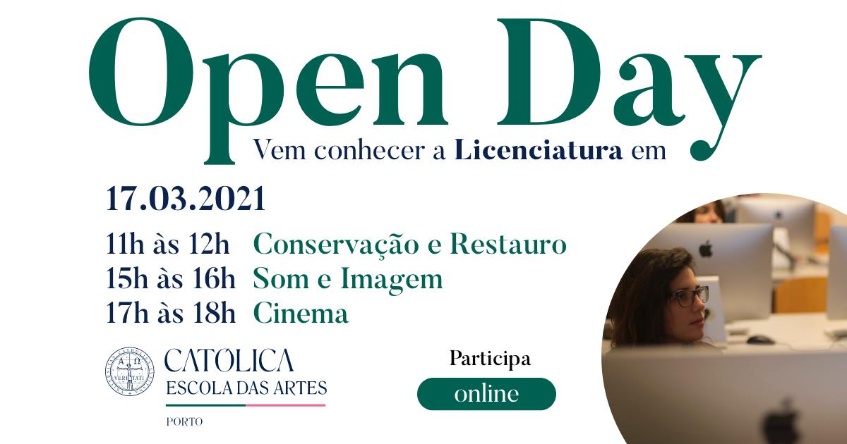 Open Day da Escola das Artes: vem conhecer as nossas ofertas de licenciatura!