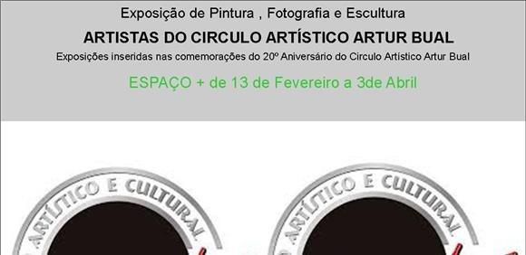 """[vídeo] Exposição de pintura, desenho e escultura """"Comemorativa dos 20 anos do Círculo Artístico Artur Bual"""""""