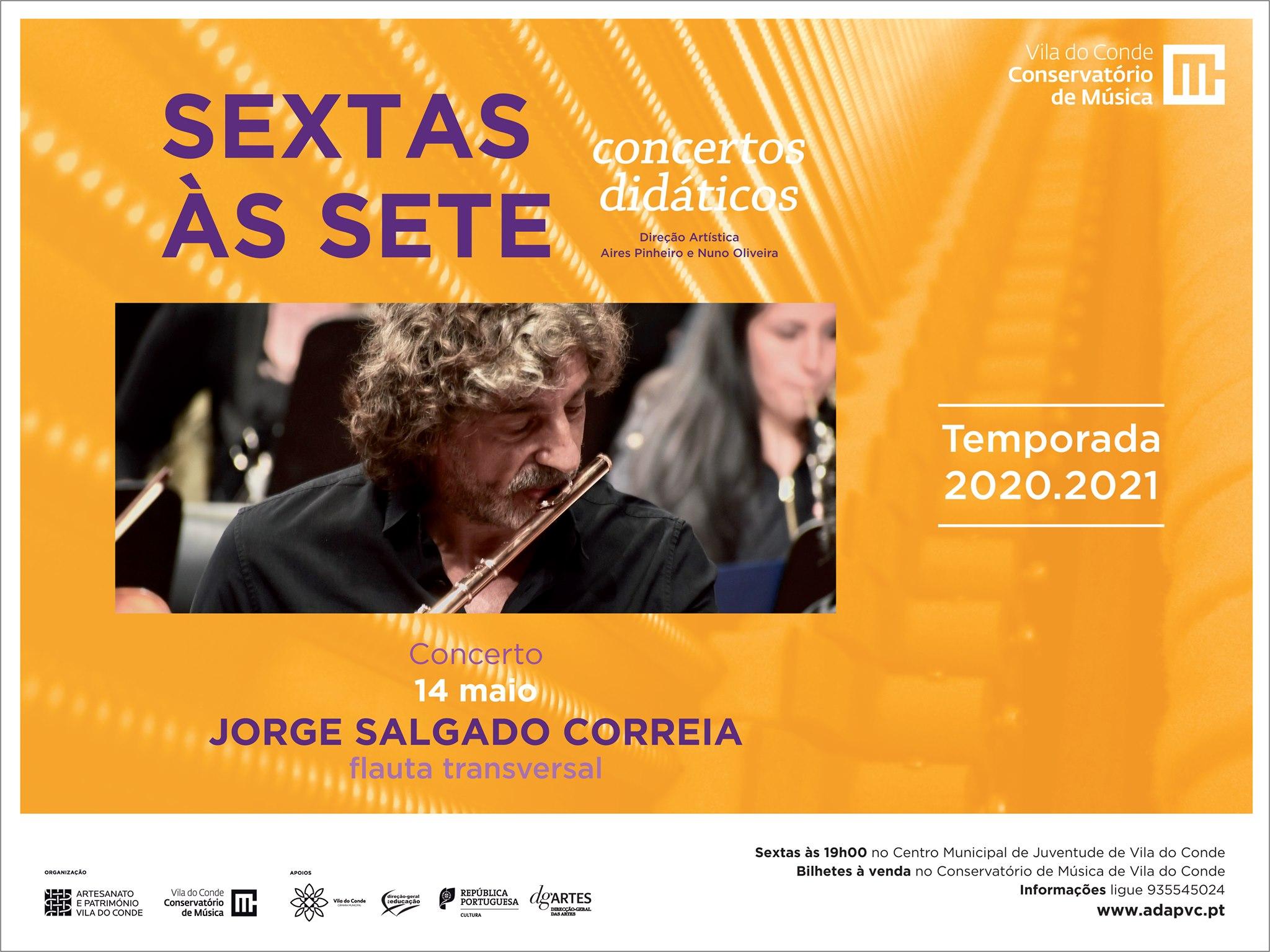 Jorge Salgado Correia - Flauta Transversal