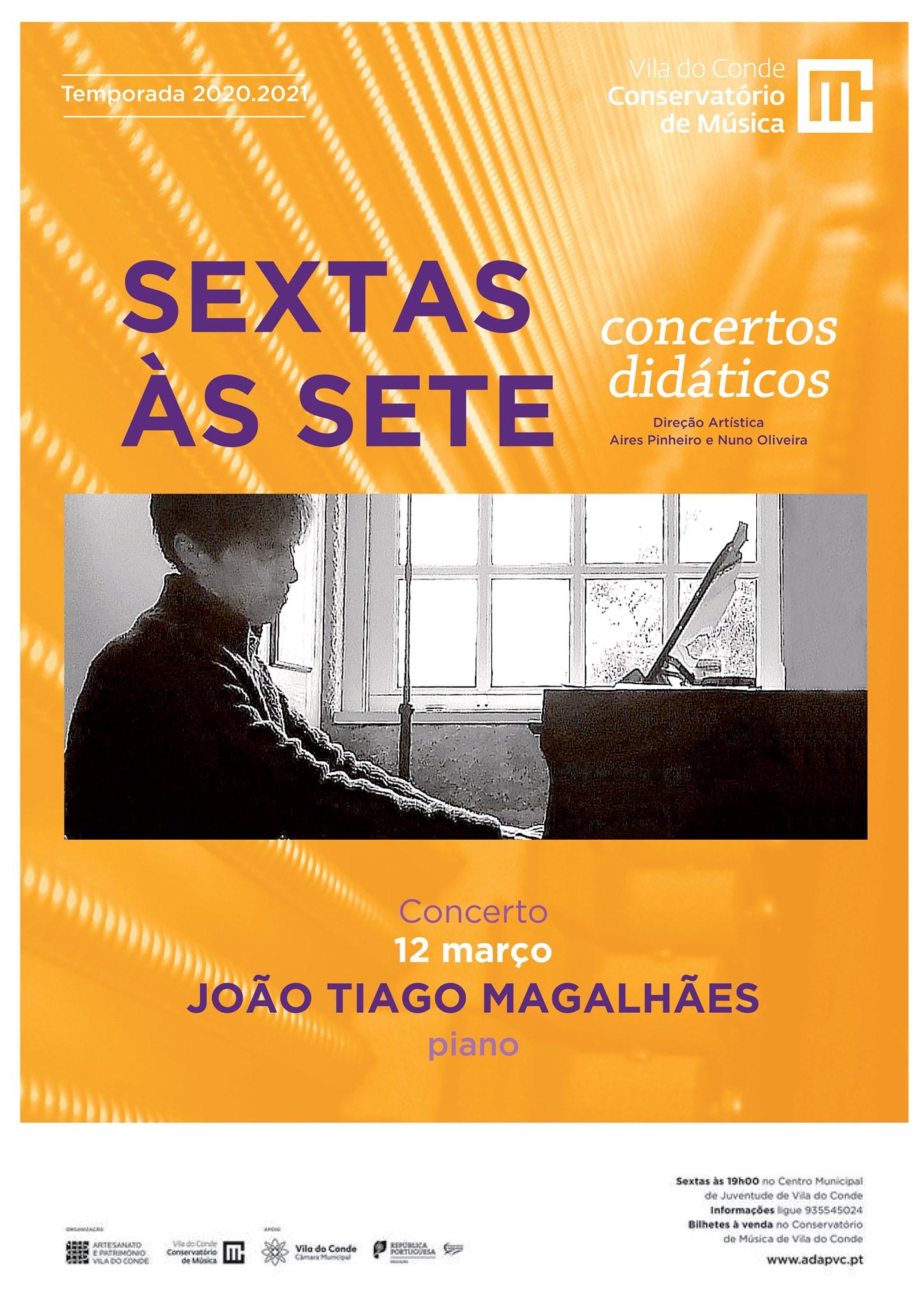 João Tiago Magalhães - Piano