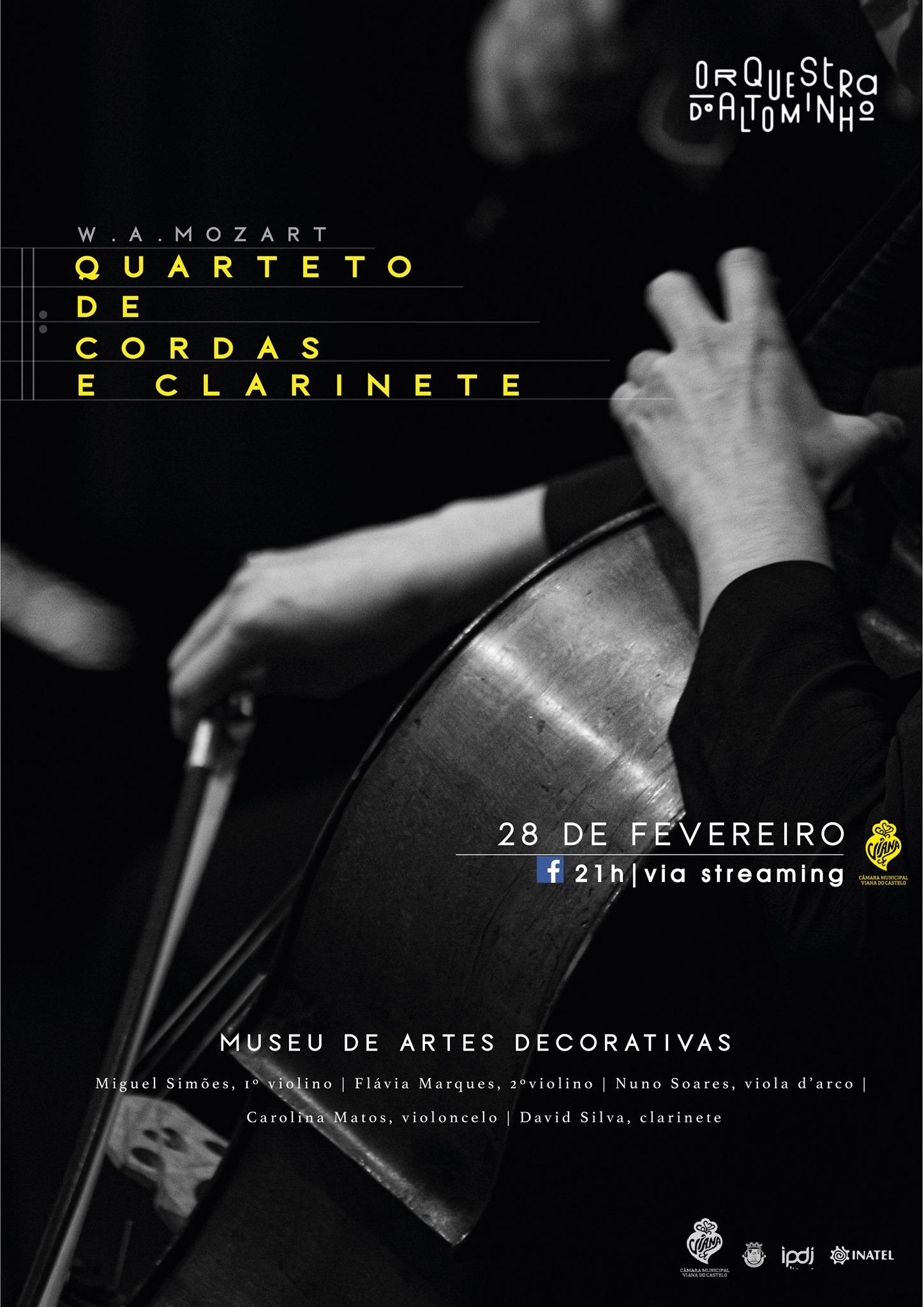 Concerto | Quarteto de Cordas e Clarinete