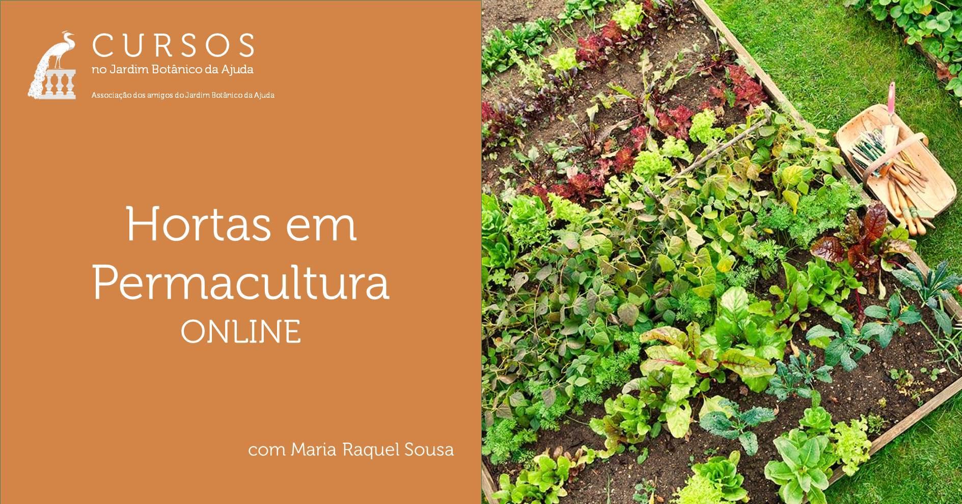 Hortas em Permacultura | ONLINE - ADIADO