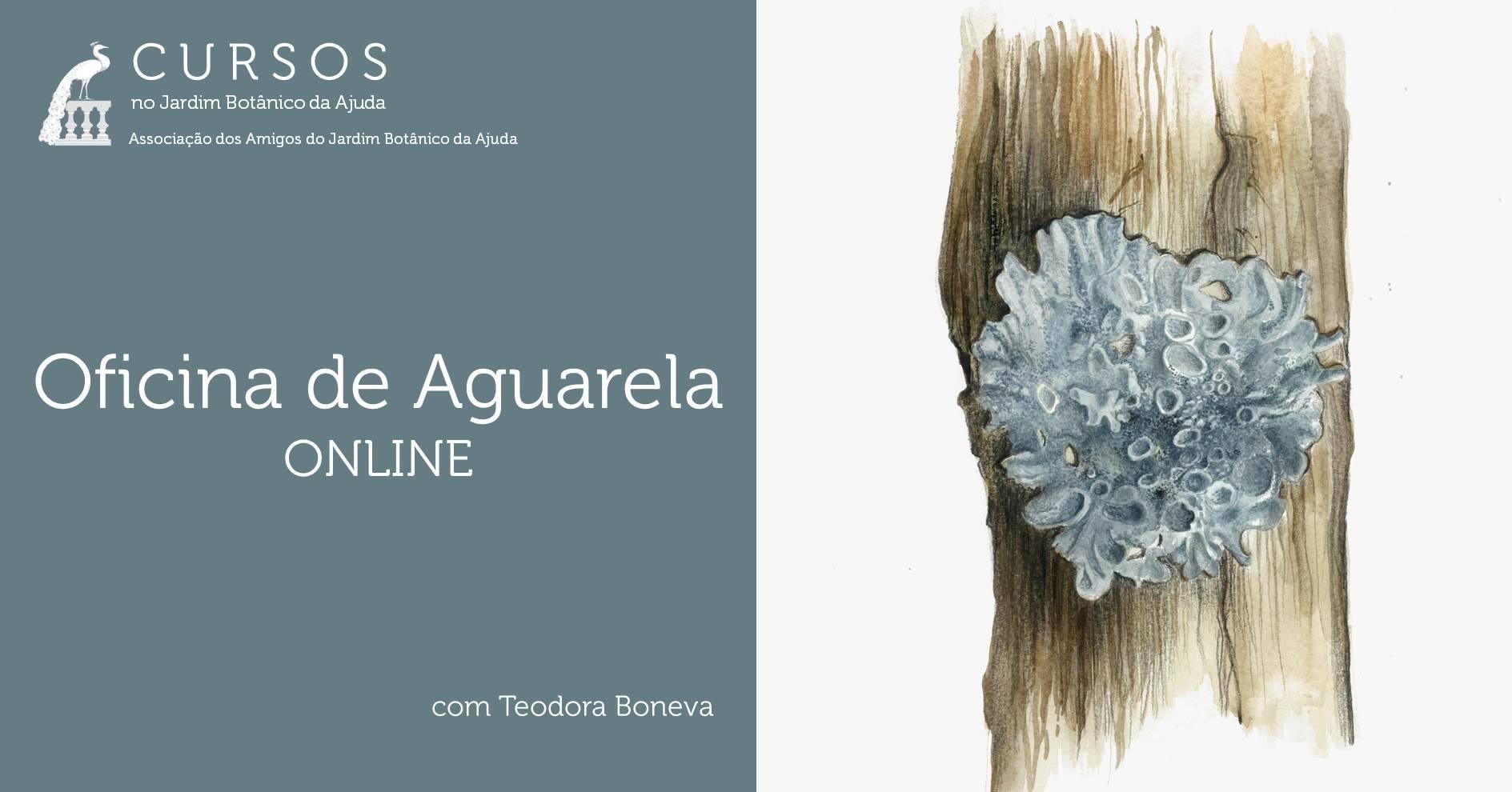 Oficina de Aguarela | ONLINE - ADIADO