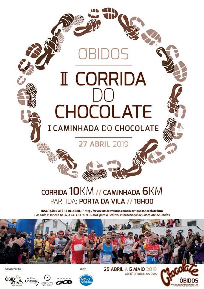 Corrida e Caminhada do Chocolate| Óbidos