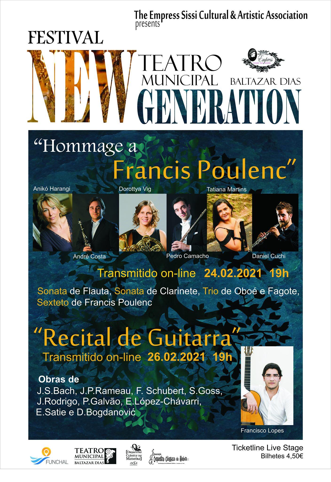 Festival New Generation - 'Recital de Guitarra'