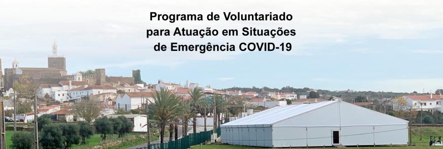 Programa de Voluntariado para Atuação em  Situações de Emergência COVID-19